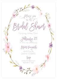 bridal shower invite template bridal shower invitation