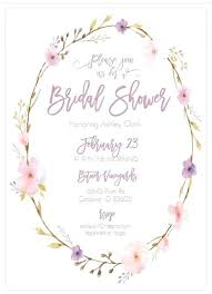 bridal shower invite template bridal shower invitation