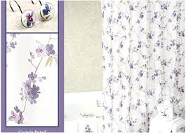 Plum Shower Curtain Purple And Silver Shower Curtain Black And
