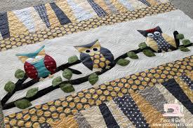 Piece N Quilt: Owl ~ Baby Quilt & Owl ~ Baby Quilt Adamdwight.com