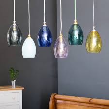colored glass pendant lighting. Bertie Mini Coloured Glass Pendant Light Colored Lighting E