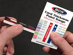 What Thickness Of Card Holder Do I Need Bcw Supplies Blog