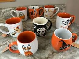 Halloween mugs and coffee cups: Halloween Coffee Mugs Spectrum Design Boo Spooky Trick Or Treat You Choose New Ebay