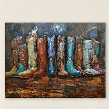 on metal wall art overstock with cowboy boot corral metal wall art overstock
