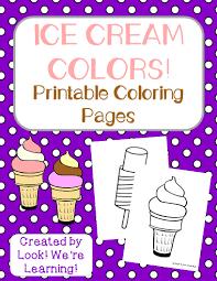 Preschool Worksheets Printable Ice Cream Preschool Worksheets