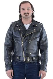 Interstate Leather Jacket Size Chart Highwayman Deluxe Police Leather Concealed Carry Motorcycle