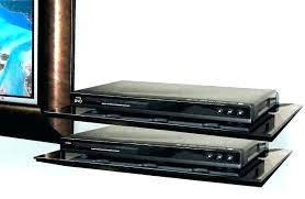 Floating Shelves For Dvd Player Etc Enchanting Floating Dvd Shelf Black Set Of 32 Cube Floating Wall Mounted Shelves