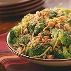 broccoli with almond breadcrumb topping