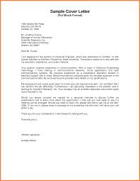 Full Block Letter Final Depict Sample Of Format Compudocs Us Foundinmi