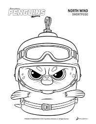 Small Picture Free Penguins Of Madagascar Coloring Pages And Activity Sheets