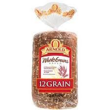 arnold whole grain 12 grain bread 24 oz