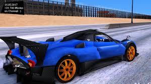 Pagani Zonda Lowsize New ENB Top Speed Test GTA Mod Future - YouTube