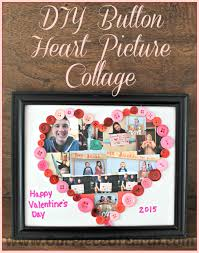 diy on heart picture collage
