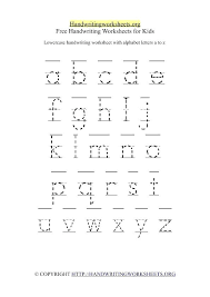 Kindergarten Alphabet Tracing Worksheets Download Them And Try With ...