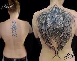 Tetování Na Záda Anděl