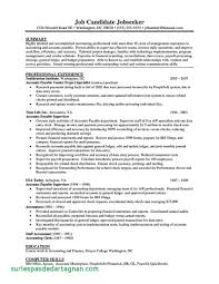 Accounts Payable Specialist Resume Samples Beautiful Of Accounts