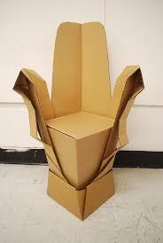 cardboard chair design. Cardboard Chair Design A