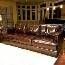 saddle leather sofa top grain leather sofa in saddle brown s saddle leather sectional