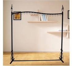 Apparel Display Stands Highend clothing store display racks wrought iron clothing rack 53