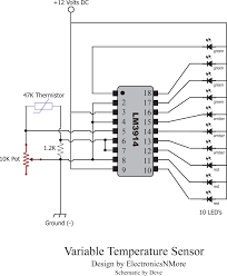 critical systems warning circuit the brains for this project is a Warn Winch Diagram critical systems warning circuit the brains for this project is a texas instruments lm3914 dotbar display