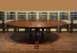 dining room miraculous large round transitional dining table 64 to 84 in from tremendeous 84
