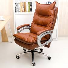 office chair genuine leather white. Real Leather Office Chair Genuine Luxurious And Comfortable Home Adjustable  Height Ergonomic Boss Seat Furniture Swivel In Chairs From On Offic Office Chair Genuine Leather White H