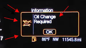 Ford Fusion Oil Light Reset Ford Fusion Oil Change Required Reset Oil Life
