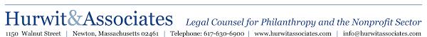 Nonprofit Organizational Structure Hurwit Associates