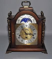 linden black forest mantel clock key wind spring driven 1 4 hour chiming