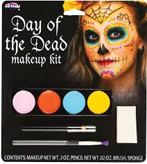 day of the dead female face painting fx makeup kit jpg