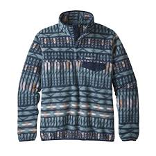 Patagonia Patterned Fleece Gorgeous Patagonia Women's Lightweight Synchilla SnapT Pullover