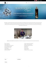 Web Design Whitby Black Oxygen Caps Web Design Ecommerce Toronto Ajax