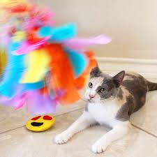 if your kitty loves feathers and what cat doesn t she s going to