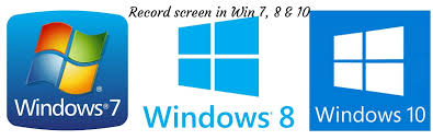 Record Desktop Windows 7 Record Screen In Windows 7 8 10 Without Any Specific Recording