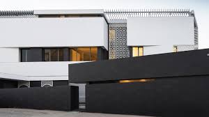 Frontage House Designs Slice House By Alhumaidhi Architects Hkz Mena Design Magazine