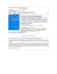 Baird Wallace The Space Story And The Inner Light Pdf Pdf Unclaimed Territory Childhood And Disordered Space S