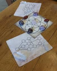Crystal Grid Patterns Unique Design