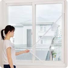 1X <b>Self</b>-<b>adhesive</b> Anti-<b>mosquito</b> Net DIY Curtain <b>Insect</b> Fly <b>Mosquito</b> ...