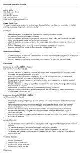 Bunch Ideas Of Full Specialist Resume Examples Epic Insurance ...