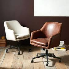 leather antique wood office chair leather antique. Antique Leather Swivel Office Chair Attractive Wood Desk With West Elm Prepare Vintage