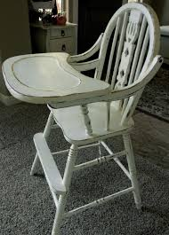 wooden baby high chairs antique refinished antique high chair old wooden high chairs for