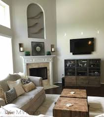 benjamin moore revere pewter living room. Benjamin Moore Revere Pewter With Undertones In A Room Tall Walls And High Vaulted Ceiling Living L