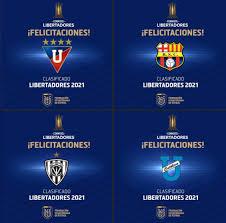 Los clasificados a la Copa Libertadores 2021