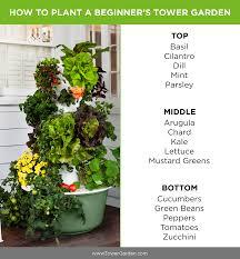 how to grow a beginner tower garden