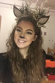 deer makeup for