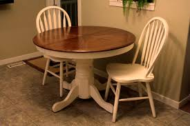 Round Oak Kitchen Tables Refinishing Oak Dining Table How To Refinish A Wood Table