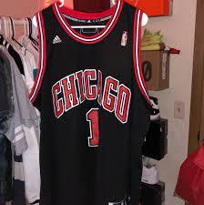 Authentic Derrick Rose Chicago Bulls ...