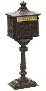 Amco Victorian Pedestal Mailbox