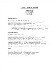 Football Coaching Resume Template Coaching Resume Templates Coach Template Writing College