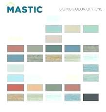Mastic Siding Color Chart Alside Siding Colors Loganhomedesign Co